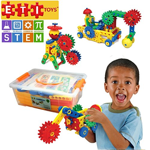 109 Piece Educational Engineering Building Set for 4, 5, 6 ...
