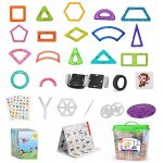 110-pcs-Magnetic-tiles-Magnetic-Blocks-Building-kids-educational-toys-0-1