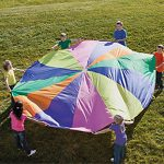 12-Ft-Kids-Play-Parachute-w-Handles-Outdoor-Game-Toy-wCarry-Case-0