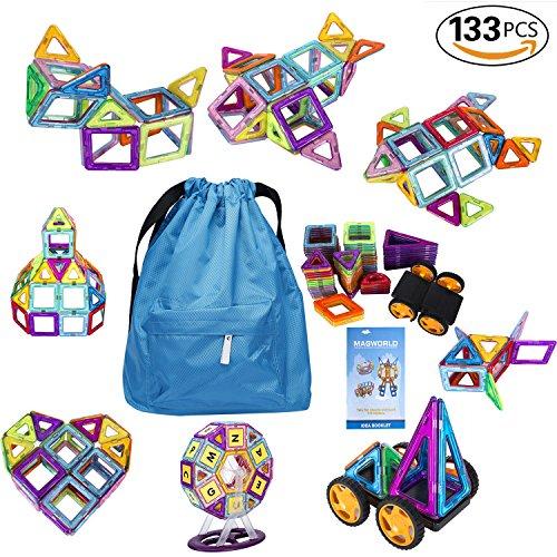 133-Pieces-Magnetic-BlocksMagnetic-Building-Blocks-Toys-SetKuloe-Kids-Magnetic-Toys-Educational-Building-Tiles-Blocks-0