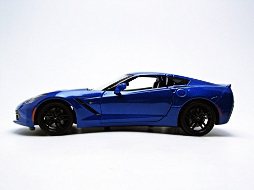 2014-Chevrolet-Corvette-Stingray-Z51-Blue-118-by-Maisto-31677-0-0