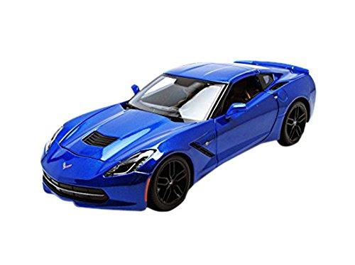 2014 Chevrolet Corvette Stingray Z51 Blue 1/18 by Maisto 31677 | Hobby Leisure Mall