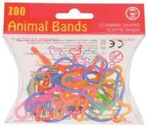30-Packs-of-12-Animal-Shaped-Rubber-Bands-Zoo-Farm-Set-0