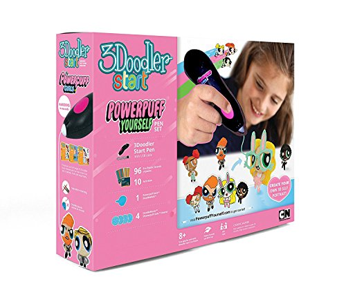 Best Toys Gift Ideas For 9 Year Old Girls In 2018: 3Doodler Start Powerpuff Yourself Licensed 3D Printing Pen