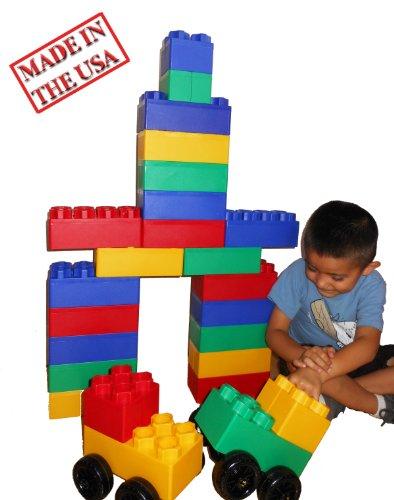 40pc-Jumbo-Blocks-Big-City-Playset-with-Wheels-0