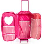 8-Piece-Doll-Traveling-Trolley-Set-fits-18-American-girl-Doll-Including-Pajamas-Sleeping-Bag-Doll-Not-Included-0-0