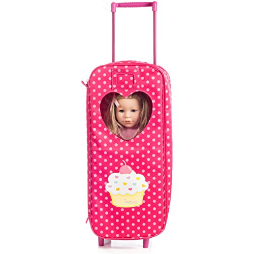 8-Piece-Doll-Traveling-Trolley-Set-fits-18-American-girl-Doll-Including-Pajamas-Sleeping-Bag-Doll-Not-Included-0-1