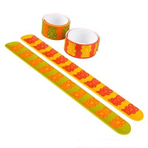 9-Gummy-Bear-Slap-Bracelet-Multicolored-One-Dozen-0