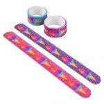 9-Ice-Cream-Slap-Bracelets-Assorted-Colors-One-Dozen-0