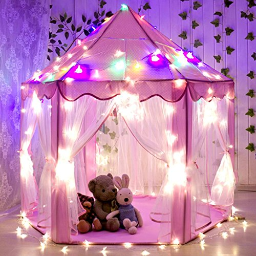Abspace Girls Princess Castle Play Tent Children Large