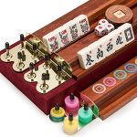 American-Mahjong-Mah-Jongg-Mahjongg-166-Tiles-Set-with-Racks-and-Accessories-The-Classic-0-0