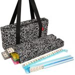 American-Wholesaler-Linda-Li-American-Mah-Jongg-Set-with-Soft-Sided-Quilted-Design-Black-Paisley-Print-Carrying-Case-166-Ivory-Tiles-0