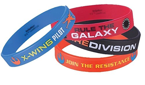 Amscan-4-CountStar-Wars-Episode-Vll-Favor-Rubber-Bracelets-0-0