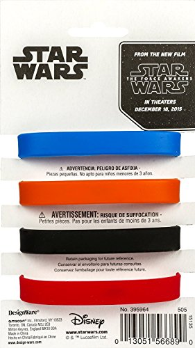 Amscan-4-CountStar-Wars-Episode-Vll-Favor-Rubber-Bracelets-0-1