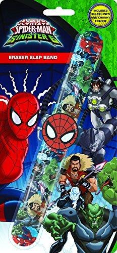 Anker-Spiderman-Eraser-Slap-Band-297X21X2-cm-Assorted-0