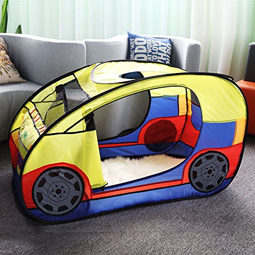 Anyshock Playhouses For Kids Outdoor And Indoor Waterproof Car Play House Castle Tent Toys With