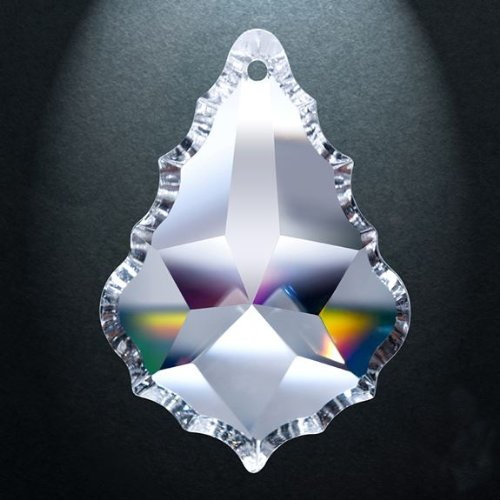 Asfour-Crystal-911-Pendeloque-Clear-Crystal-Prism-4-Inch-1-Hole-Box-of-20-Pieces-0