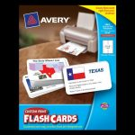 Avery-Custom-Print-Flash-Cards-3-x-5-Inches-for-Inkjet-and-Laser-Printers-100-Pack-04750-0-0
