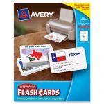Avery-Custom-Print-Flash-Cards-3-x-5-Inches-for-Inkjet-and-Laser-Printers-100-Pack-04750-0