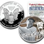 BABE-RUTH-2005-American-Silver-Eagle-Dollar-1-oz-US-Colorized-Coin-Yankees-0