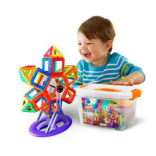 Brain Development Toys : Boomardo magnetic blocks building set pcs