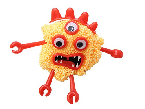 BULK-Set-of-12-Monster-Doh-Kit-with-Arms-Eyes-mold-able-puttydoughslime-Modelling-Compound-Monster-Character-0-0