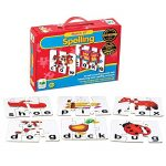BUNDLE-OF-4-learning-Journey-Match-It-Spelling-20-Self-Correcting-Puzzle-Sets1-Stuffed-Animal-Elephant-1-Little-People-Compare-Contrast-Flash-Cards-Plus-1-Alphabet-Learning-Flash-Cards-0-0