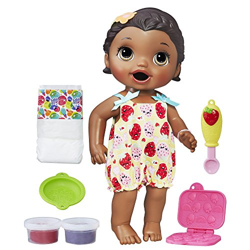 Baby Alive Super Snacks Snackin Lily African American