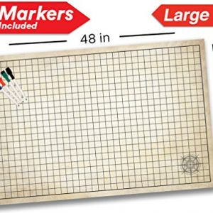 Dry Erase Dungeon Tiles Set Of 36 Five Inch Interlocking