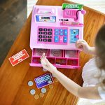 Ben-Franklin-Toys-Talking-Toy-Cash-Register-store-learning-play-set-with-3-languages-paging-microphone-credit-card-bank-card-and-play-money-0-0