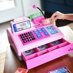 Ben-Franklin-Toys-Talking-Toy-Cash-Register-store-learning-play-set-with-3-languages-paging-microphone-credit-card-bank-card-and-play-money-0-1