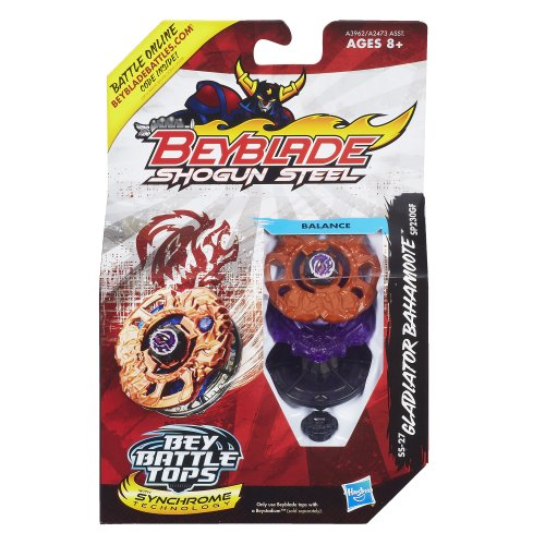 Beyblade-Shogun-Steel-BeyBattle-Tops-SS-27-Gladiator-Bahamoote-SP230GF-Top-0-0