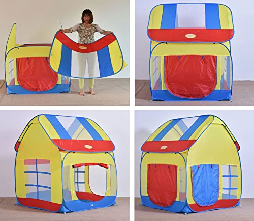 Big Children Playhouse Pop Up Play Tent For Boys Or Girls