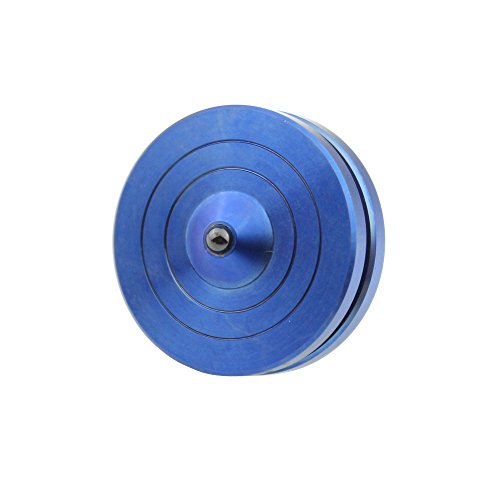 Blue-Titanium-Pocket-Top-Precision-Handmade-Accurate-Spinning-Top-High-End-Collection-0-1