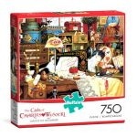 Buffalo-Games-The-Cats-of-Charles-Wyoscki-Maggie-The-Messmaker-750-Piece-Jigsaw-Puzzle-0-0