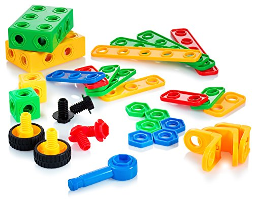 Construction Toys For Boys : Building blocks set toys gift for boys