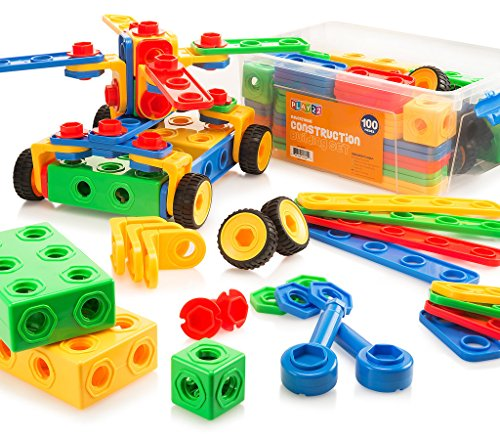 Construction Toys For Girls : Building blocks set toys gift for boys