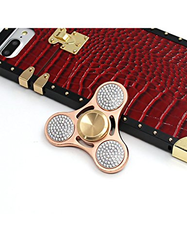 Callancity-crystal-fidget-finger-spinner-luxury-handwork-shiny-diamond-rose-gold-Tri-Fidget-Hand-finger-toy-spinner-run-smoothly-no-noise-for-ADHD-Anxiety-0-2