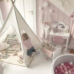 Canvas-Kids-Teepee-Children-Play-Tent-with-Mat-Carry-Case-for-Indoor-Outdoor-Raw-Whiteby-Tiny-Land-0-1