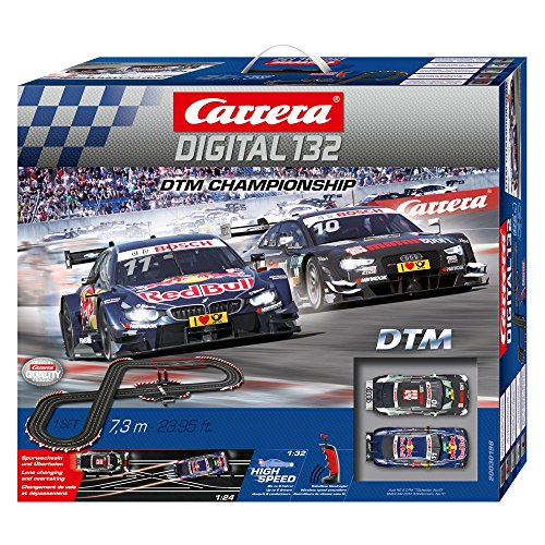 carrera 30196 digital 132 dtm championship 2 4 ghz wireless slot car race set hobby leisure mall. Black Bedroom Furniture Sets. Home Design Ideas