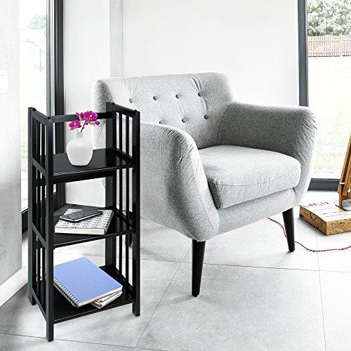 Casual-Home-3-Shelf-Folding-Bookcase-14-Wide-White-0-1