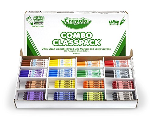 Crayola-Bulk-Markers-and-Crayons-256-Count-Classpack-0-0