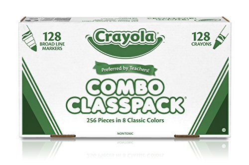 Crayola-Bulk-Markers-and-Crayons-256-Count-Classpack-0-1