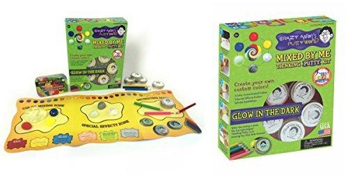 Crazy-Aaron-Thinking-Putty-Gift-Bundle-Mixed-By-Me-Glow-Dark-Kit-Bonus-Super-Illusions-Super-Scarab-Tin-0-0