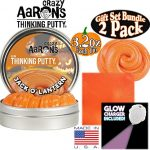 Crazy-Aarons-Thinking-Putty-Halloween-Scaredy-Cat-Jack-O-Lantern-Glow-in-the-Dark-with-Blacklight-Charger-Gift-Set-Bundle-with-Exclusive-Mattys-Toy-Stop-Storage-Bag-2-Pack-0-1