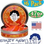Crazy-Aarons-Thinking-Putty-Mini-Tins-Complete-Gift-Set-Bundle-Featuring-Hypercolor-Glow-in-the-Dark-Super-Illusion-Electric-Color-Scented-Exclusive-Lizard-Lips-Scorpion-Skin-16-Pack-0-2