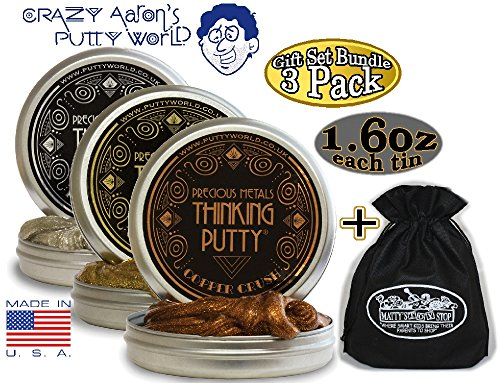 Crazy-Aarons-Thinking-Putty-Precious-Metals-Gift-Set-Bundle-Including-Good-as-Gold-Copper-Crush-Pure-Platinum-Bonus-Mattys-Toy-Stop-Storage-Bag-3-Pack-0-0
