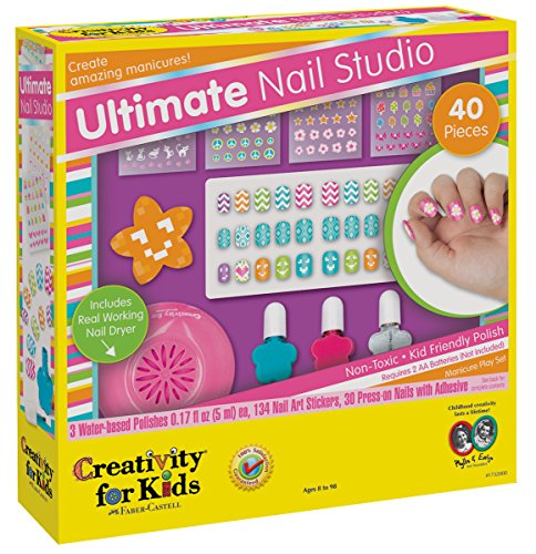Creativity-for-Kids-Ultimate-Nail-Studio-Manicure-Play-Set-0