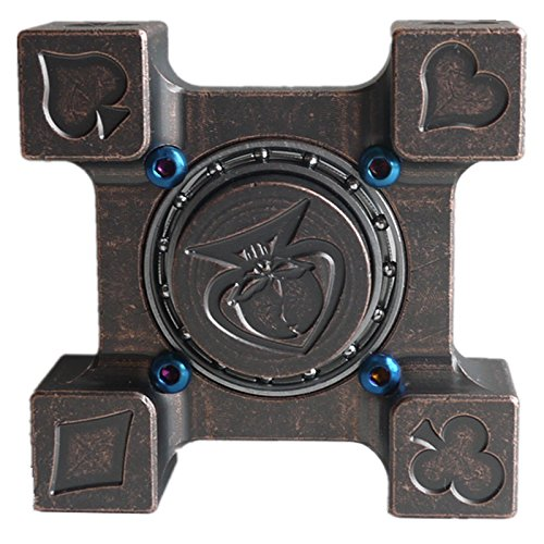 DMaos-Ring-Spinner-Castle-Spin-Cross-Finger-New-TOY-Metal-Brass-Copper-Exquisitely-Carved-Cube-0