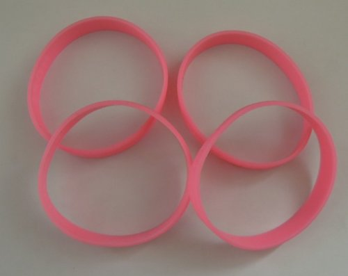 Dazzling-Toys-Breast-Cancer-Awareness-Pink-Bracelets-Pack-of-144-12-DOZEN-0-0